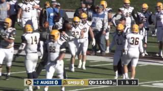 Download SMSU Mustang Football vs Augustana 11-12-2016 Video