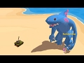 Download TANK vs GIANT KILLER MEGA SHARK! (Omegalodon) Video