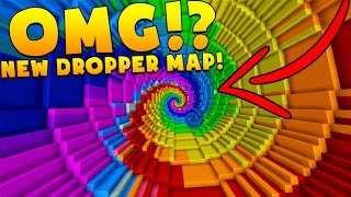 Download UNLIMITED DROPPER BRAND NEW EPIC MINECRAFT MAP!? Video
