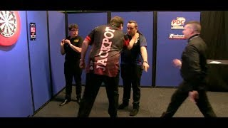 Download Adrian Lewis vs. Jose Justicia PUSHING Incident - 2018 PDC Pro Tour Video