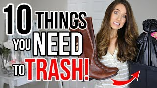 Download 10 Things OUT OF STYLE You NEED To TRASH! (or donate) Video