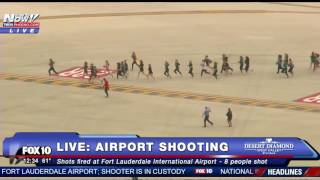 Download MASS SHOOTING: Passengers RUNNING For Their Lives At Ft. Lauderdale After Mass Shooting - FNN Video
