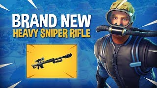 Download *NEW* Heavy Sniper Rifle! - Fortnite Battle Royale Gameplay - Ninja Video