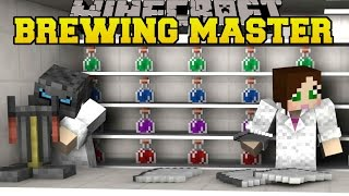 Download Minecraft: THE BREWING MASTERS! - PUMPKIN PARTY - Mini-Game Video