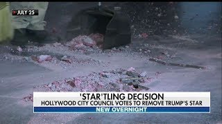 Download West Hollywood City Council Votes to Remove Trump's Hollywood Walk of Fame Star Video