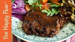Download Vegan Steak   Wheat Meat   Seitan Steak Video