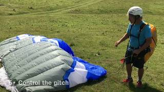 Download Paraglider Ground Handling - 7 INSTANT FAILS Video