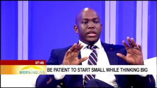 Download Be patient to start small while thinking big - Vusi Thembekwayo Video