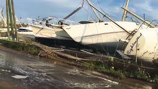 Download Hurricane damage from Irma and Maria on St. Thomas St. John and Tortola Video