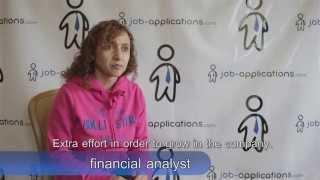 Download Financial Analyst Interview Video