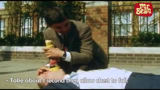 Download Mr. Bean CPR Video