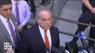 Download WATCH: Lawyer for Harvey Weinstein speaks after court appearance Video