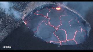 Download Kīlauea Summit Eruption | Lava Returns to Halemaʻumaʻu Video