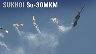 Download Sukhoi Su-30MKM Dances in the Sky over Singapore with Thrust Vectoring Maneuvers – AINtv Video