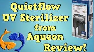 Download Aqueon Quietflow 18W HOB UV Sterilizer Review! Video