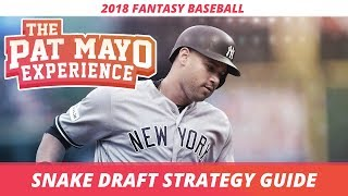 Download 2018 Fantasy Baseball: Snake Draft Strategy, Tips and Tricks Video