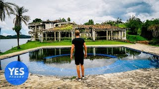 Download Abandoned $10,000,000 Mansion of Pablo Escobar (paint balled inside!) Video