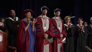 Download Daniel and Henrik Sedin awarded honorary degrees Video