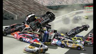 Download Nascar racing 2003 season wrecks 1 Video