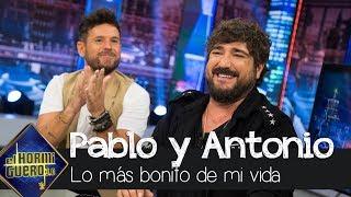 Download Antonio Orozco cuenta la experiencia más bonita de su vida - El Hormiguero 3.0 Video