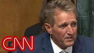 Download Senator Jeff Flake calls for delay in Kavanaugh floor vote Video