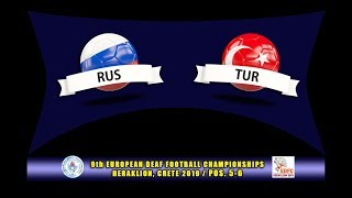 Download ΡΩΣΙΑ - ΤΟΥΡΚΙΑ / RUSSIA - TURKEY (EDFC2019, POS 5-6) Video
