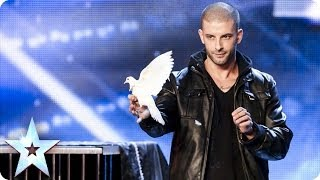 Download Darcy Oake's jaw-dropping dove illusions | Britain's Got Talent 2014 Video