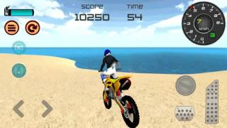 Download Motocross Beach Jumping 3D Walkthrough GamePlay Android Game Video