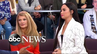 Download Demi Lovato's mom opens up on her battles with substance abuse, addiction Video