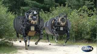 Download DARPA - AlphaDog Legged Squad Support System (LS3) Field Testing [720p] Video