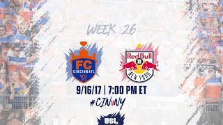 Download USL LIVE - FC Cincinnati vs New York Red Bulls II 9/16/17 Video