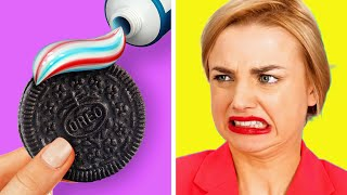 Download DON'T TOUCH MY FOOD!! DIY hacks for people who HATE sharing food Video