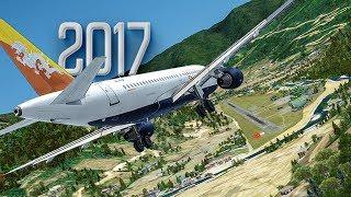 Download Worlds Hardest Approach | New Flight Simulator 2017 [P3D 4.0 - Ultra Realism] Video