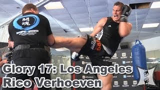 Download Glory 17: Rico Verhoeven Works Out Before Rematch with Daniel Ghita (HD / complete + unedited) Video