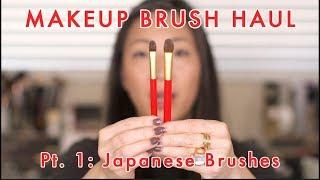 Download MAKEUP BRUSH HAUL Pt. 1 - Japanese Brushes Video
