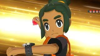 Download Pokemon Ultra Sun & Ultra Moon - Champion Hau Battle & Ending Video