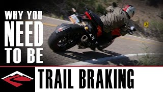 Download Why You Need to Be Trail Braking | Motorcycle Trail Braking Explained Video