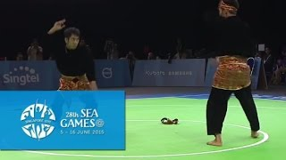 Download Pencak Silat Men's Ganda (Doubles) - Finals 1st Placing (Day 5) | 28th SEA Games Singapore 2015 Video