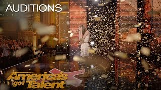 Download Courtney Hadwin: 13-Year-Old Golden Buzzer Winning Performance - America's Got Talent 2018 Video