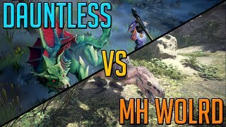Download Dauntless VS Monster Hunter World [My Thoughts] Video