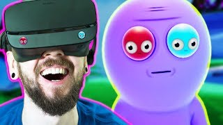 Download THE FUNNIEST GAME I HAVE EVER PLAYED | Trover Saves The Universe (VR) Video