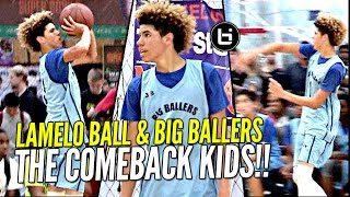 Download LaMelo Ball Does His Best Lonzo & LiAngelo Impression W/ That Melo Sauce On Top! Video