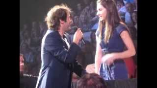 Download Best audience duet with Josh Groban (multi-angles) - To Where You Are (Maude Daigneault) Video