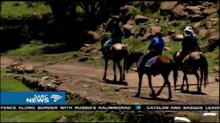 Download Tourism is booming again in Semonkong, Lesotho Video