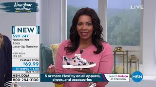 Download Naturalizer Zoey LaceUp Sneaker Video