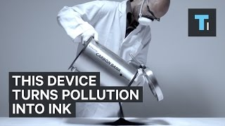 Download This device turns air pollution into ink Video