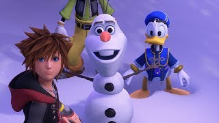 Download KINGDOM HEARTS III – E3 2018 Frozen Trailer Video