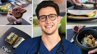 Download QUICK, TASTY, HEALTHY MEAL PREPS | 5 Meal Ideas for Busy People | Doctor Mike Video