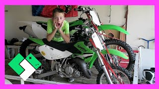 Download PICKING UP A DIRT BIKE TRAILER (Day 1476) | Clintus.tv Video