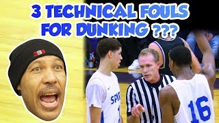 Download LaMelo Ball 3 Techs for Dunking - FULL GAME Spire vs Vermilion - Lavar Mad at Refs Video
